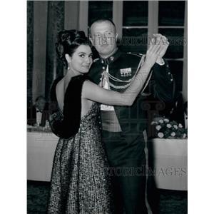 1963 Press Photo Actress Rossana Schiaffino & Husband Producer Alfredo Bini