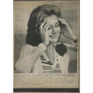 1976 Press Photo Barbara Walters Actress Television Host - RSC79519