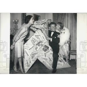 1957 Press Photo Actor Philippe Bouvard - KSB05999