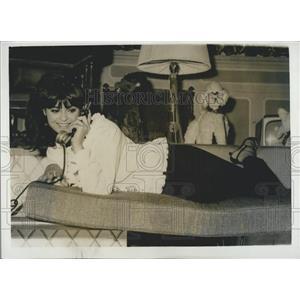 1962 Press Photo Actress/singer Daliah Lavi