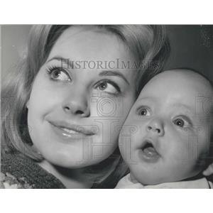 1963 Press Photo Italian Actress Gabriella Farinon