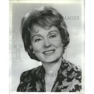 1966 Press Photo Martha Scott American Movie Television Actress - RSC49553