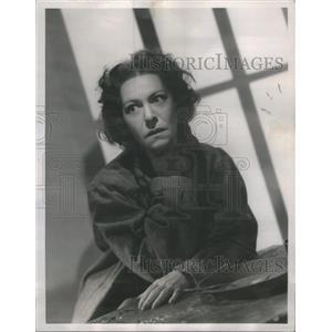 1945 Press Photo Actress Alla Nazimova Dies - RSC85633