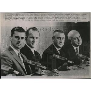 1966 Press Photo DR. ROBERT R. GILRUTH AVIATION - RRW85699