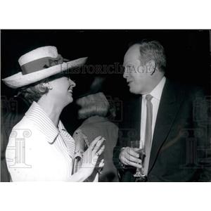 1965 Press Photo German Actor Heinz Ruhmann & actress Liselotte Pulver