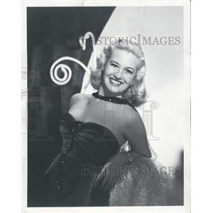 "1951 Press Photo Marilyn Maxwell in ""Relentless"" - XXB10095"