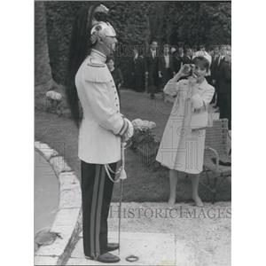 1965 Press Photo Italian actress Gina Lollobrigida