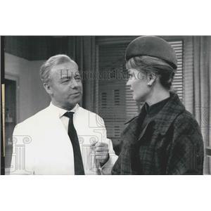 1964 Press Photo Actors Liselotte Oliver, Heinz Ruhmann
