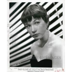 1955 Press Photo Shirley MacLaine Actress THE TROUBLE WITH HARRY - XXB10305