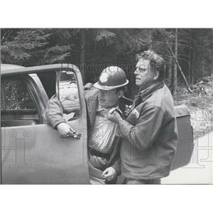 1972 Press Photo Actor Burt Lancaster in Twilight's Last Gleaming