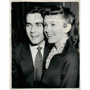 1955 Press Photo Actors Janette Scott & Vernon Gray - KSB23581