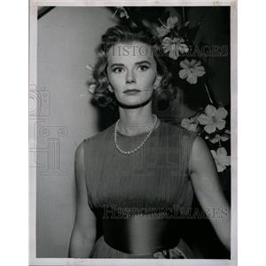 1961 Press Photo Actress Bethel Leslie - RRW20729