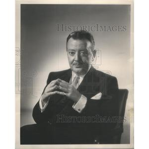 1954 Press Photo Raymond Walburn American Character Actor - RSC31947