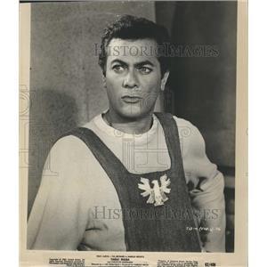 1963 Press Photo Tony Curtis, American Actor in Taras Bulba