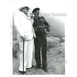 1979 Press Photo Timothy West (left) as Churchill as Ian Richardson