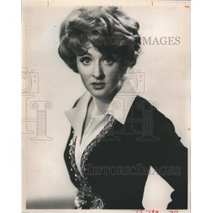 1969 Press Photo Fannie Flagg, actress and comedian