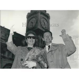 1961 Press Photo Actor Donald O'Connor