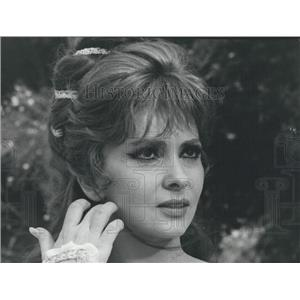 """1966 Press Photo Gina Lollobrigida Stars In Le piacevoli notti"""""""""""