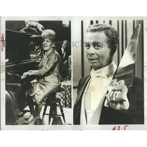 "Press Photo Frances Faye, Mel Torme in ""The Lively Ones"" - RSH84291"
