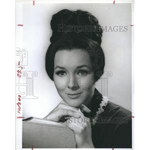 1966 Press Photo Actress Kathryn Hays