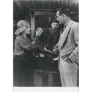 "1962 Press Photo Bette Davis, Glenn Ford in ""The Lower ten -thousand"""