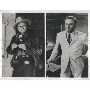 "1961 Press Photo Actor Donald Barry ABC Television Show ""Surfside 6"" - RSH83207"