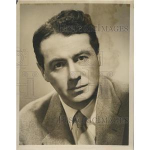 "1951 Press Photo Charles Martin on ""Philip Morris playhouse"" On CBS - RSH79113"