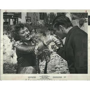 1966 Press Photo Lila Kedrova Alan Bates Actor Zorba The Greek