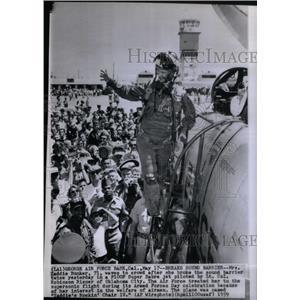 1959 Press Photo Zaddie BunkerRobinson Risene Oklahoma