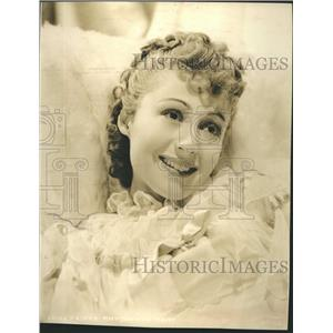 1944 Press Photo Luise Rainer German Movie Star Film Actress