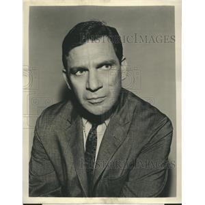 1963 Press Photo Noah Keen Actor ARREST AND TRIAL
