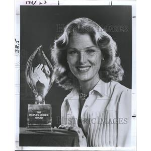 1980 Press Photo Actress Mariette Hartley People's Choice Awards Host