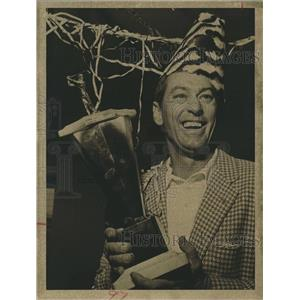 1962 Press Photo George Fisher Wins Pasadena Golf Club Championship