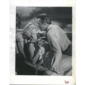 1962 Press Photo Diane McBain Gerald Mohr Actors SURFSIDE SIX