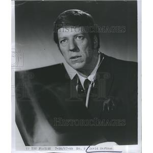 1969 Press Photo David Hartman Television Program Actor Lucas Tanner