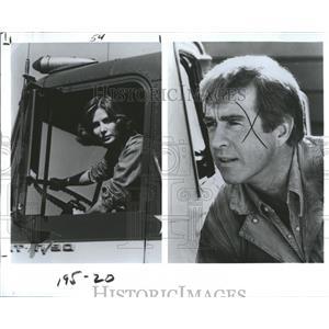 """1979 Press Photo Deborah Raffin & Clu Gulager in """"Willa"""" - RSH96795"""