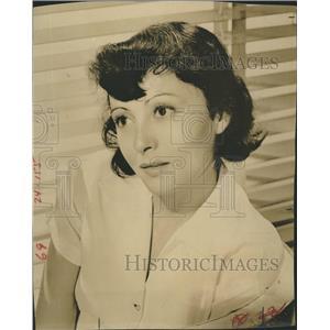 1942 Press Photo Luise Rainer German Film Actress Movie Star
