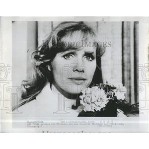 """Press Photo Actress Liv Ullmann who recently finished her first book """"Changing"""""""