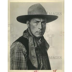 1962 Press Photo William Hart Actor Westerns Silent Films Virginian Movie