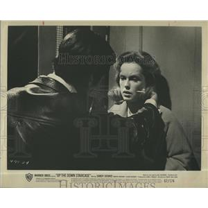 1967 Press Photo Sandy Dennis, Up the Down Staircase - RSH98993