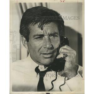 1964 Press Photo Efem Zimbalist Jr. American Actor.