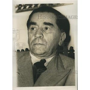 1947 Press Photo George Tatarescu Vice Premier Foreign Minister of Romania