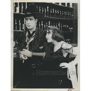 1961 Press Photo William S. Hart Silent Film Actor Movie Star Westerns V