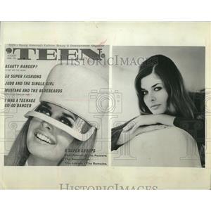 1969 Press Photo Christina Ferrare, Actress and Model
