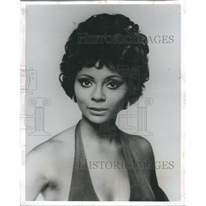 1976 Press Photo Leslie Uggams shows i the picture