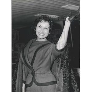 1962 Press Photo Miss Italy 1962 Miss Gracia Bucella