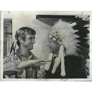 """1968 Press Photo Monte Markham stars in """"The Second Hundred Years"""""""