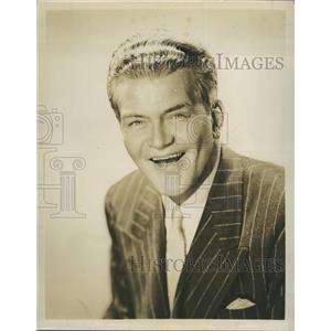 1949 Press Photo Jay Flippen American character actor.