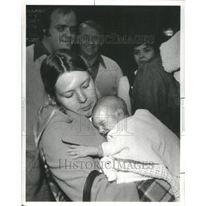 1978 Press Photo Hijacked Plane Passenger - RRU80443