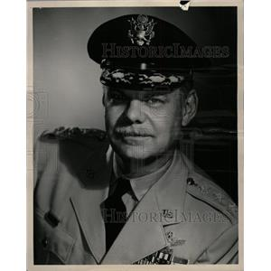 1954 Press Photo General Leon William Johnson Air Force - RRW19849